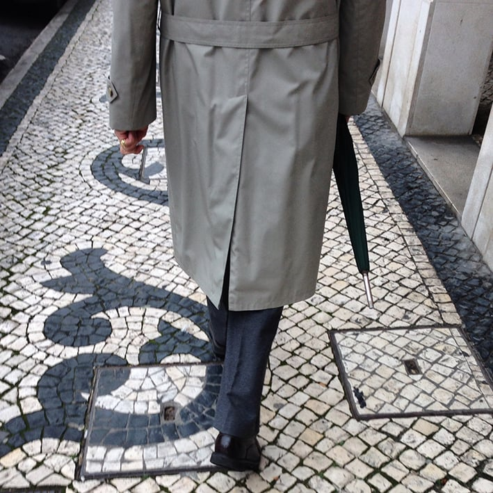 Elegant Portuguese Gentleman