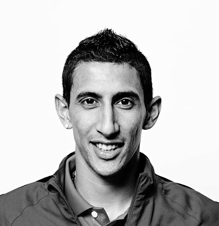 Recent shoot with Man Utd player Angel Di Maria