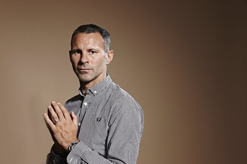 Recent editorial with Ryan Giggs