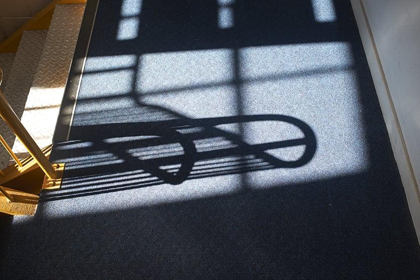 Studio stairs..