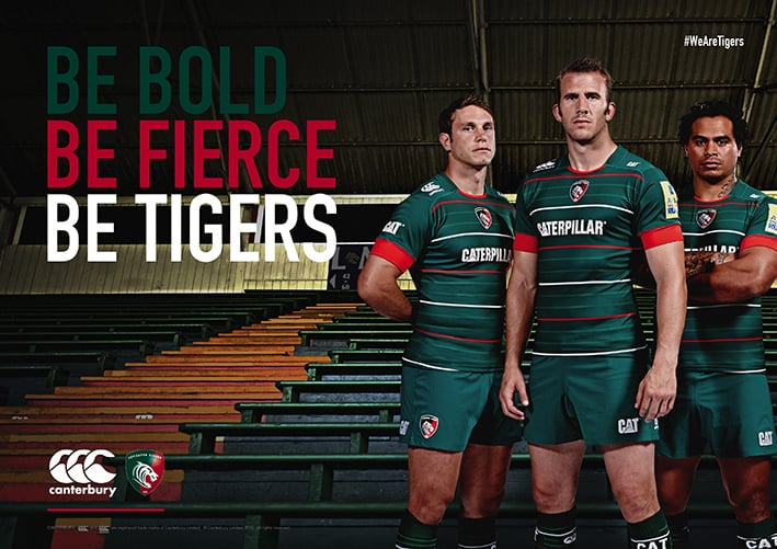 Recent shoot with the Leicester Tigers
