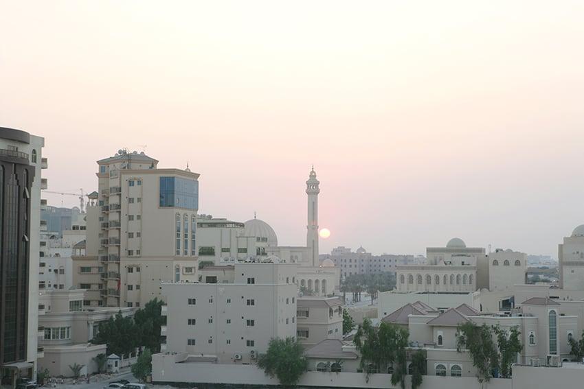 Bahrain sun set