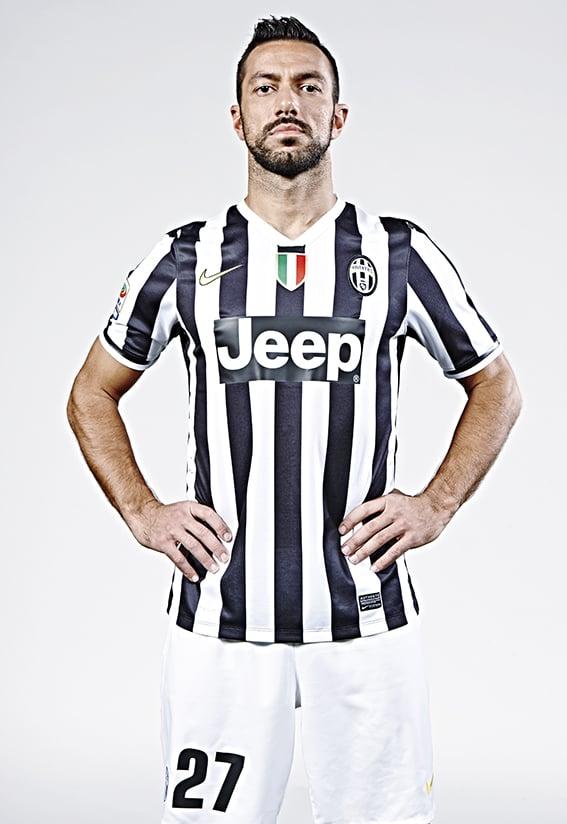 Fabio Quagliarella photographed at Juventus FC