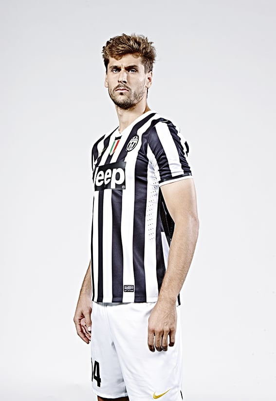 Recent photo shoot with Fernado Llorente of Juventus FC