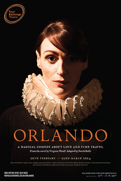New poster for the Orlando play at The Royal Exchange.