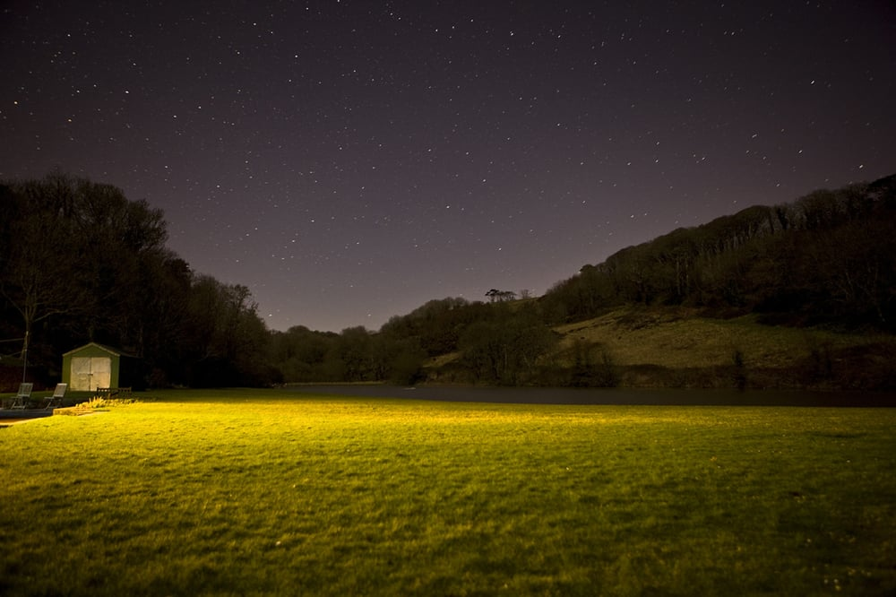 Cornwall nightscape in Foye