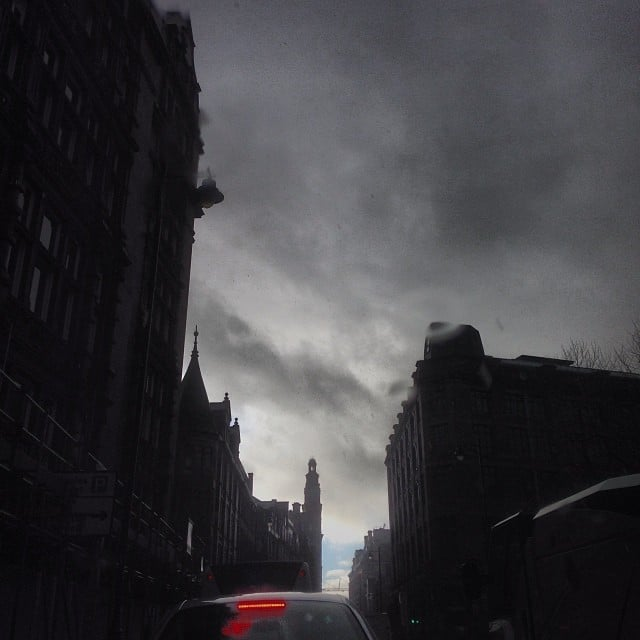 Midday in Manchester. #mordor  #manchester