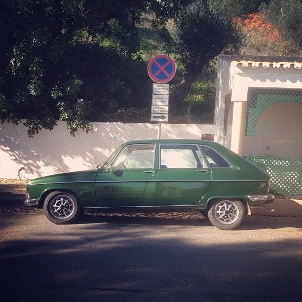 Old school Renault #renault