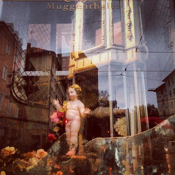 Munich shop window #reflection #window #shopwindow #munich #germany