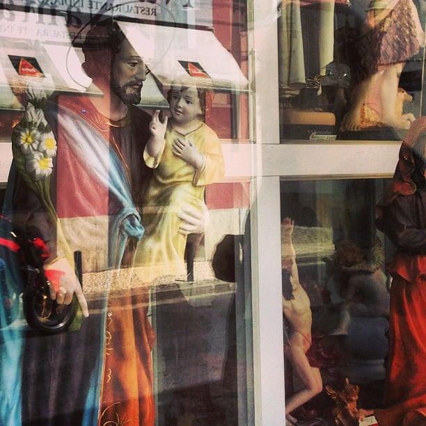 Religious shop. Portugal