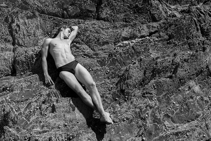 Rob on the rocks, from last weeks shoot