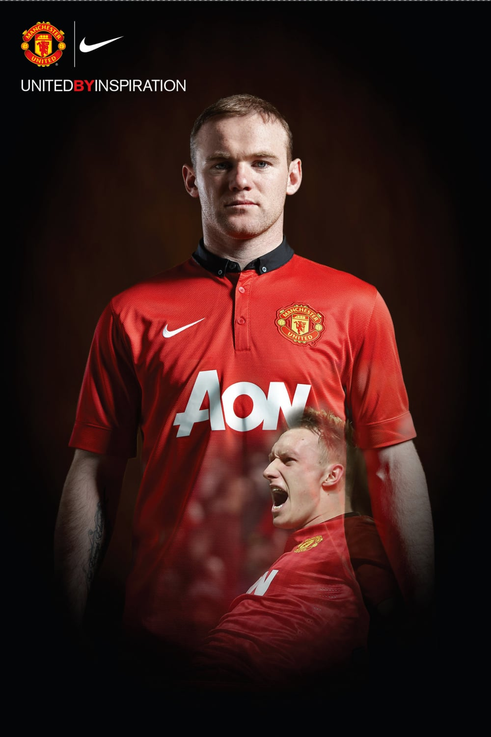 Rooney in my latest shoot for UTD