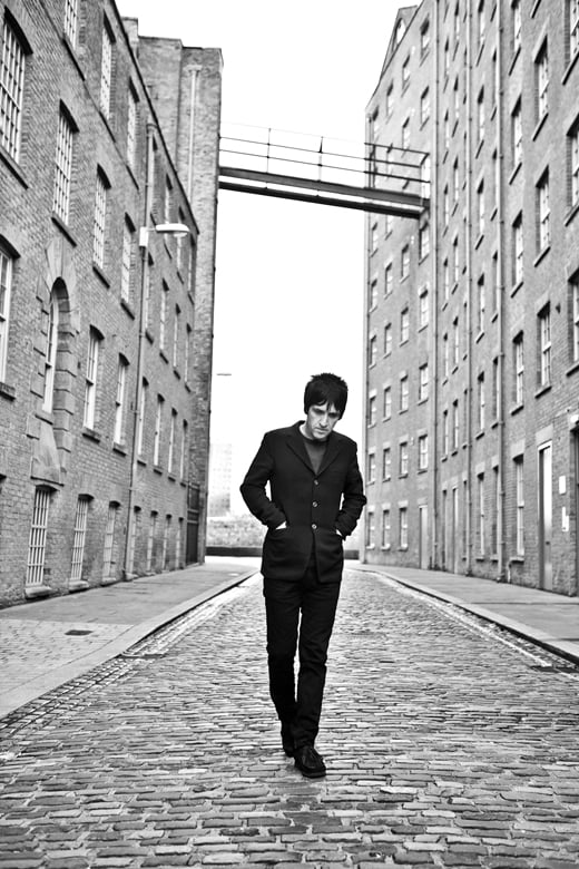 Another new shot with Johnny Marr.