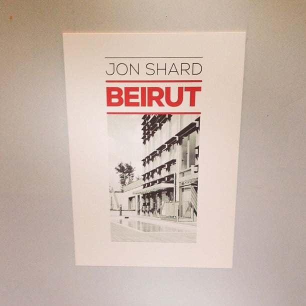 Preparing for my Beirut exhibition tonight