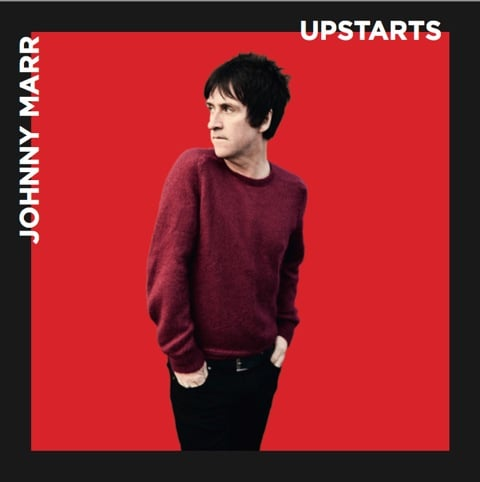 My photograph used on Johnny Marr's new single, Upstarts. Buy it now.