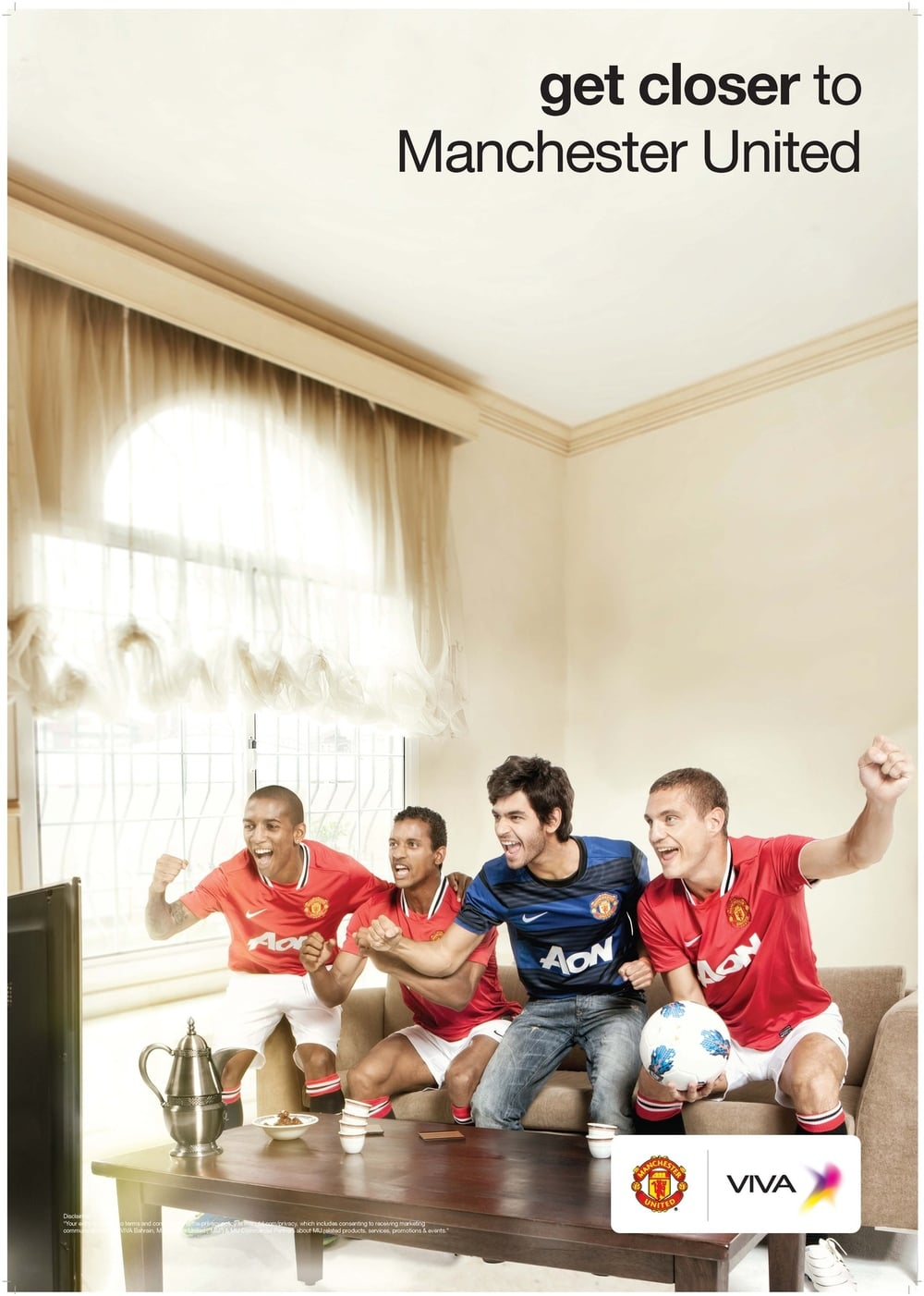 Tear sheet from the last Manchester United Campaign with Viva.