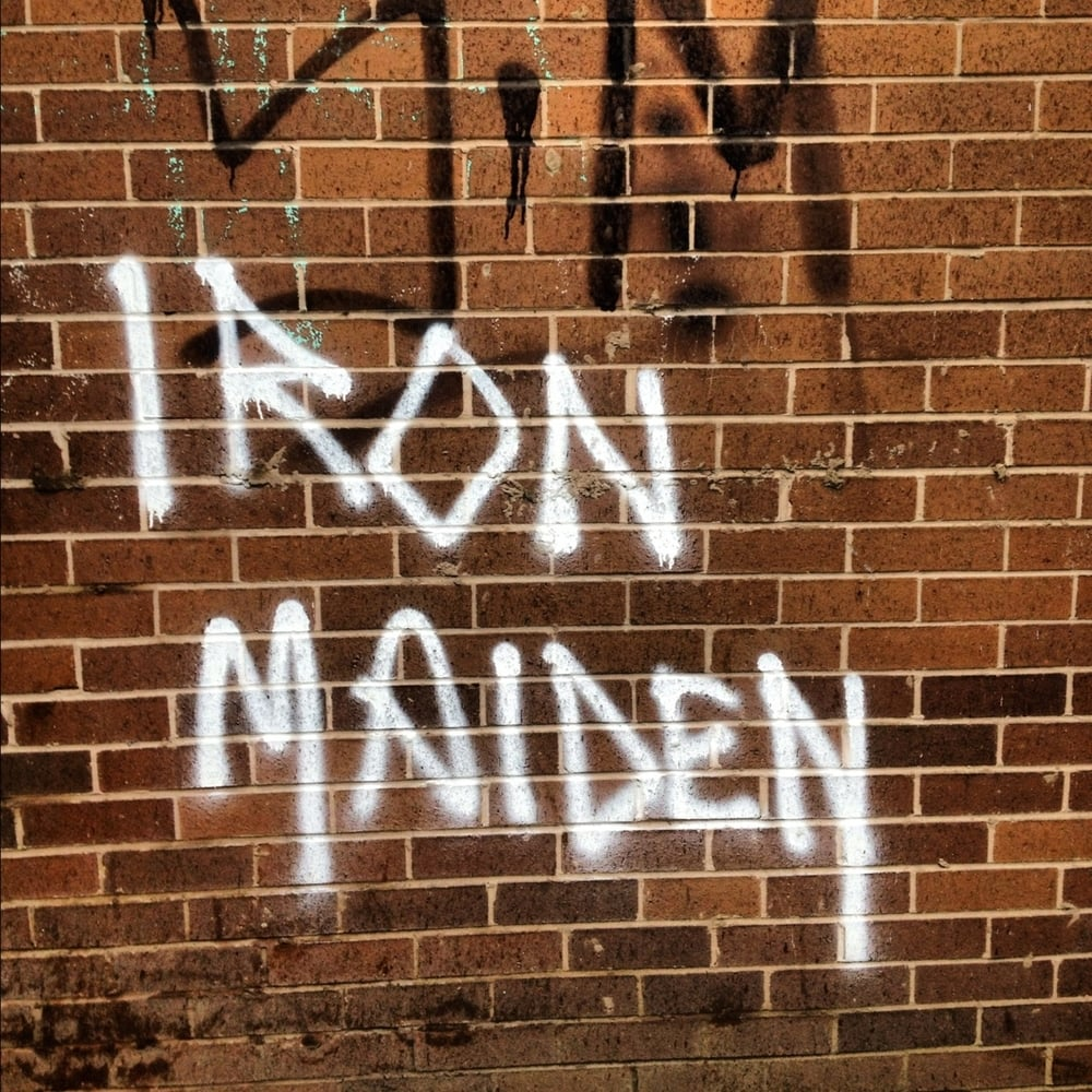 Iron Maiden Graffiti