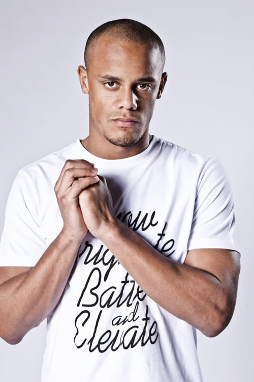 Vincent Kompany from my last shoot at MCFC