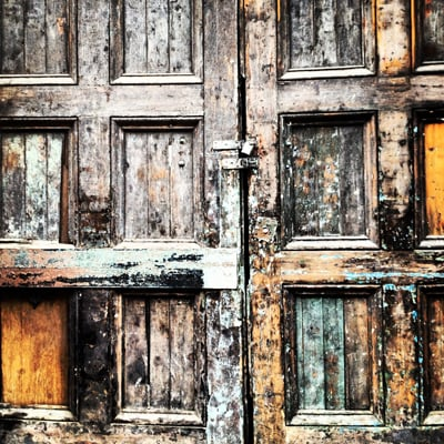 Doors from todays lunchtime walk