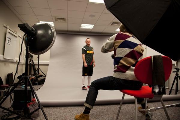 Rooney On set