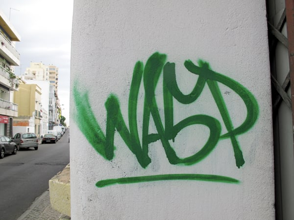 WASP (PORTUGAL'S NOTOURIOUS TAGGER)