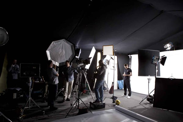 VIDEO SHOOT I DIRECTED LAST MONTH AT MAN CITY