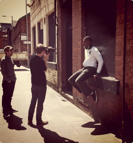 LATEST SHOOT FOR UMBRO, MORE SHOTS TO COME