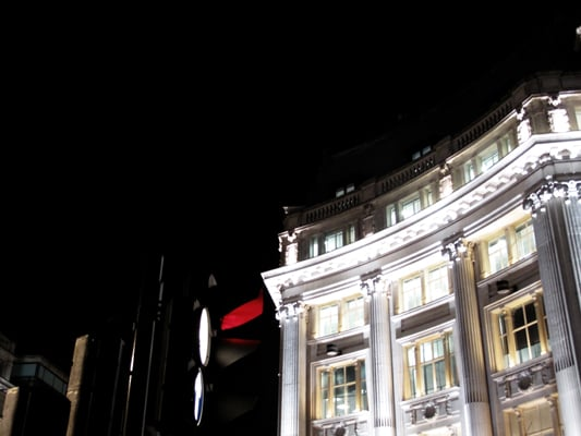 REGENT ST LAST NIGHT