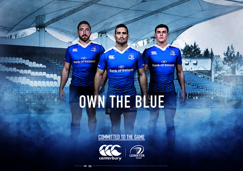 Latest shoot with Leinster Rugby team.