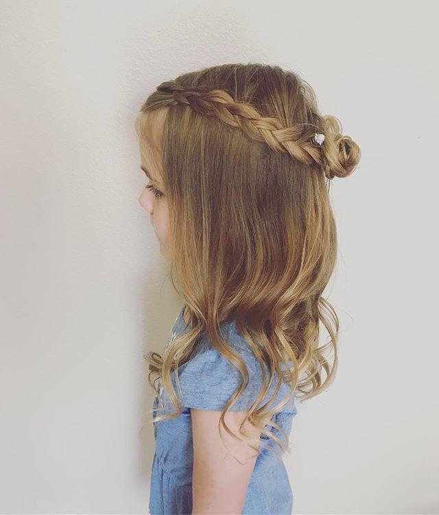 Princess hair for this cutie!