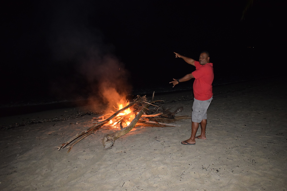 Now that's a beach bonfire