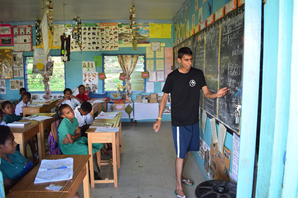 Travel Teacher | Supporting youth education in Fiji