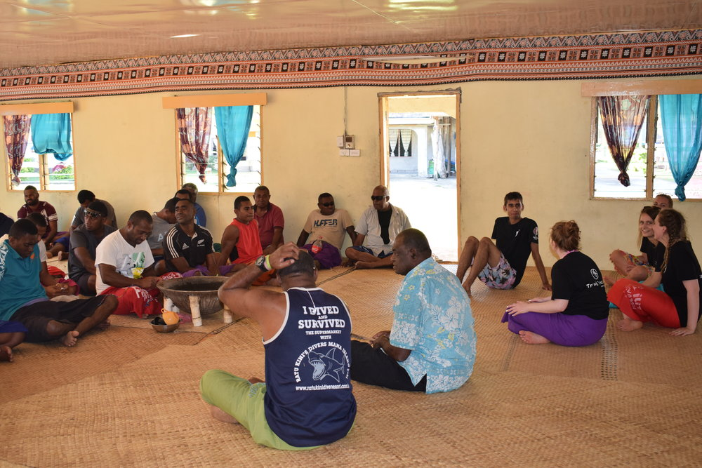 Travel Teacher cultural ceremony Fiji