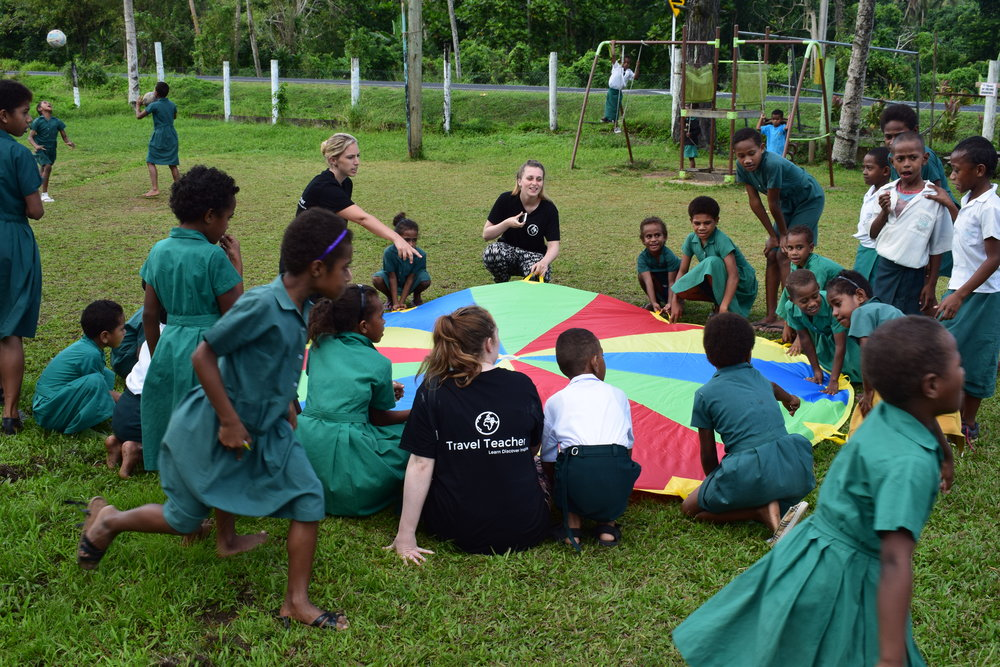 Travel Teacher Impact Fiji