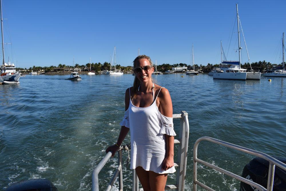 Natasha Smith, Travel Teacher Volunteer - Beachcomber Island