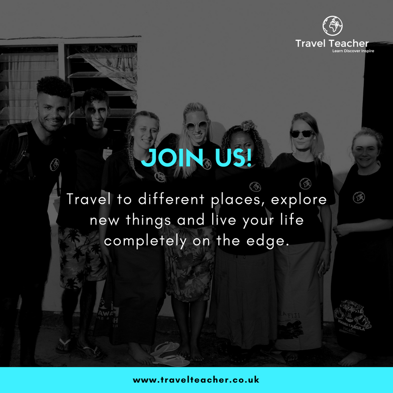 Travel Teacher - Join us!