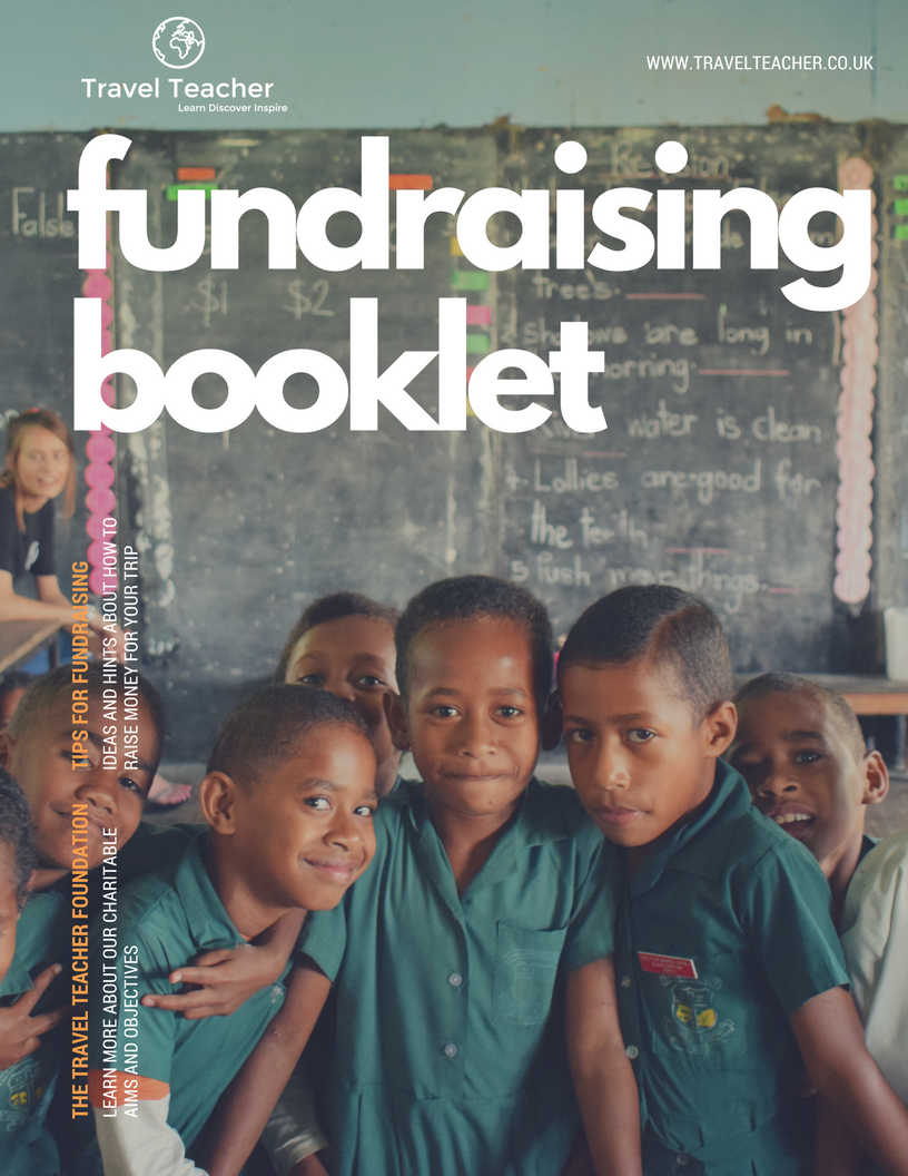 Travel Teacher Fundraising Guide