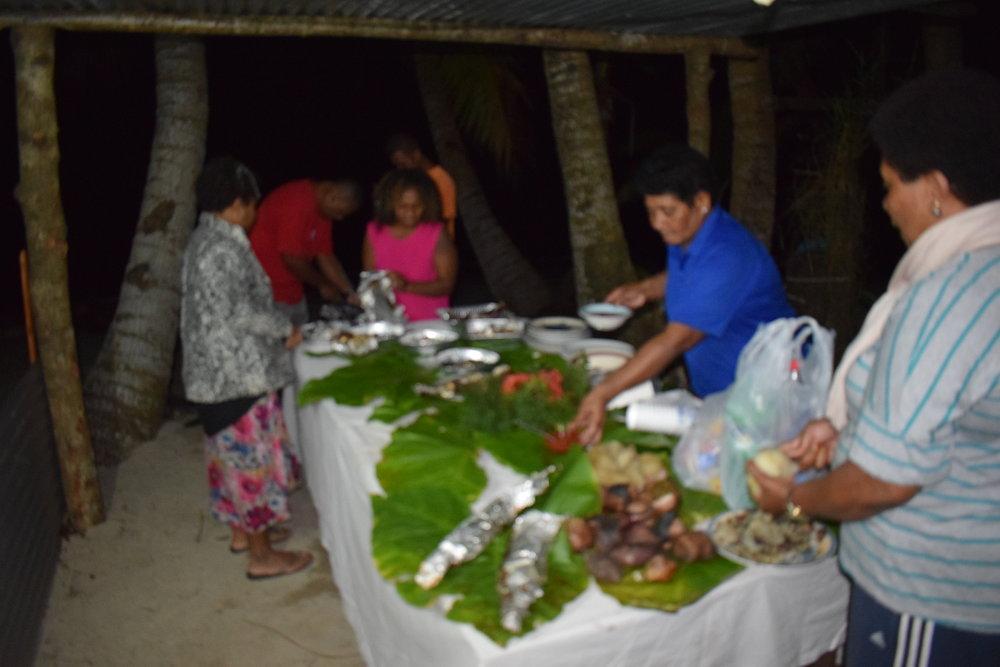 Cooking Lovo in Fiji