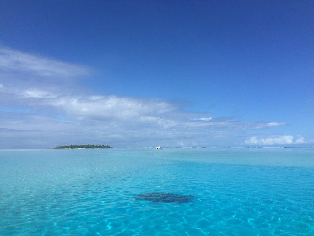 Aitutaki Lagoon   Travel Teacher