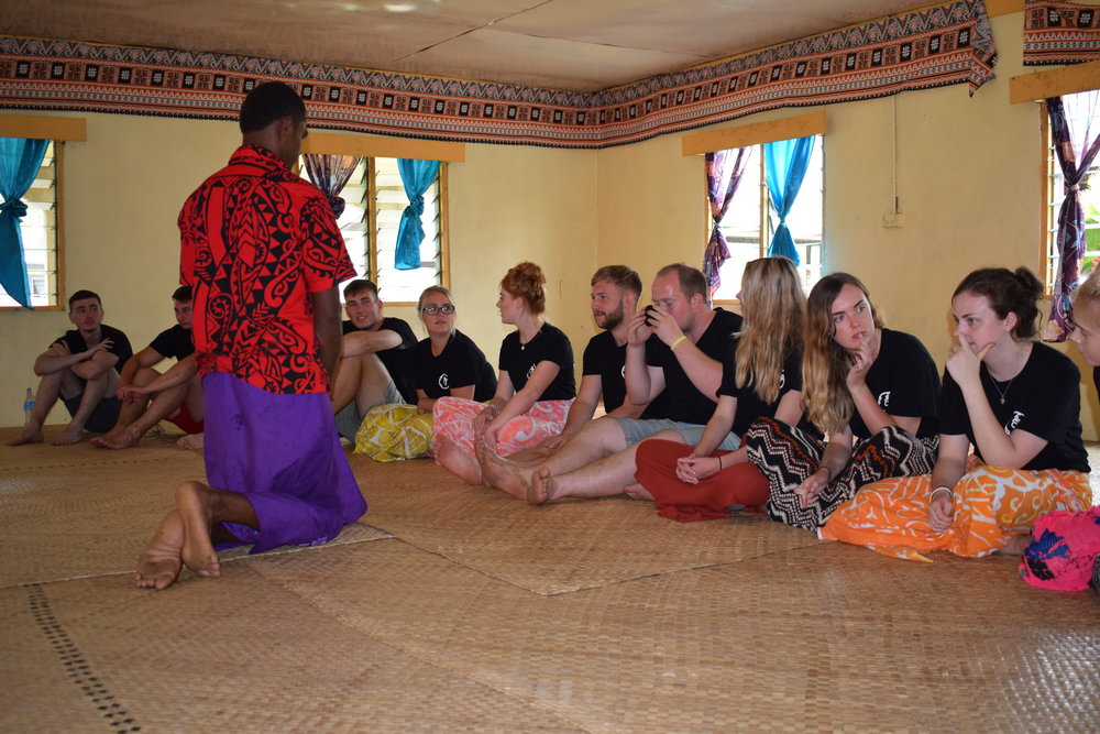 Cultural immersion Fiji