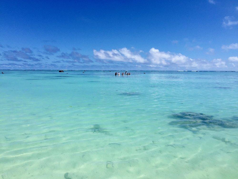 Travel Teacher | Aitutaki Lagoon
