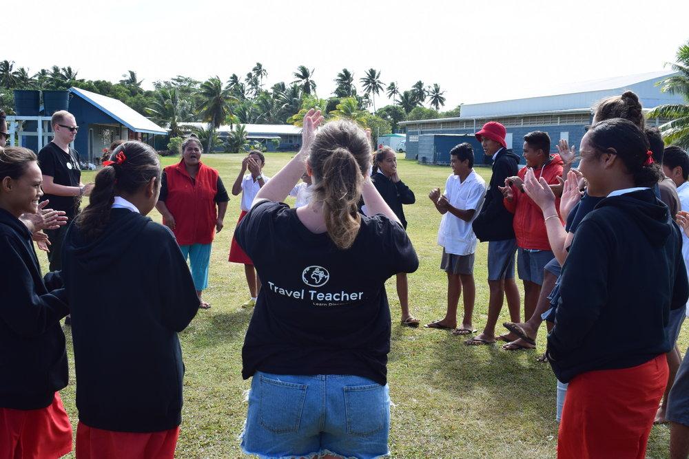 Travel Teacher | Volunteer in Aitutaki, Cook Islands