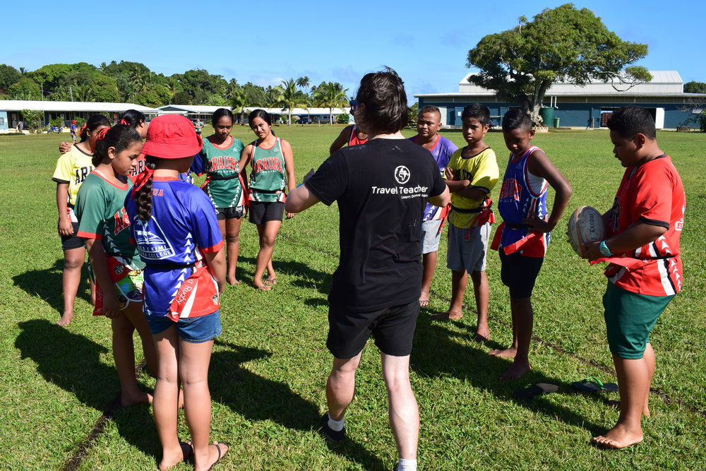 Travel Teacher | Volunteering in The Cook Islands