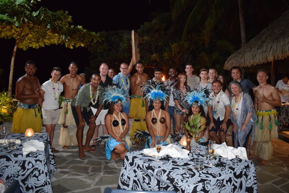 Volunteer in The Cook Islands | Traditional Welcome