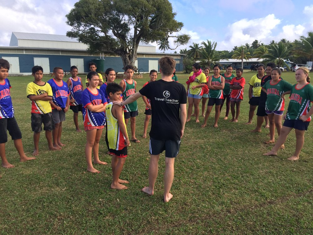 Volunteer in The Cook Islands | Travel Teacher