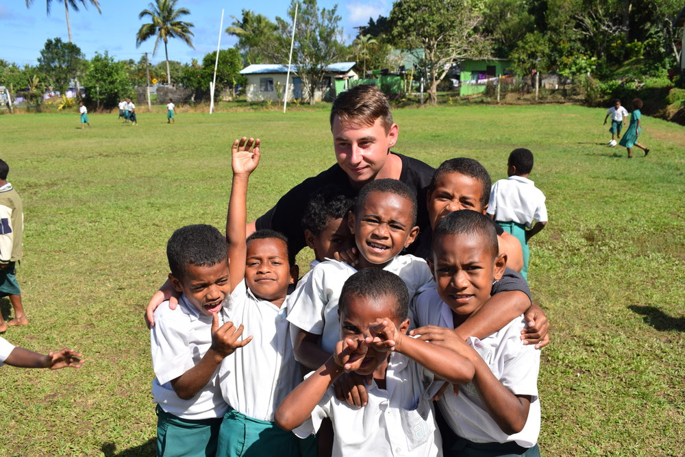 Travel Teacher volunteering in Fiji