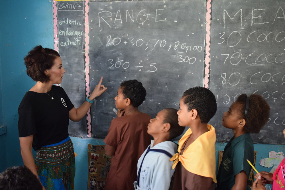 Travel Teacher | Volunteer in Fiji
