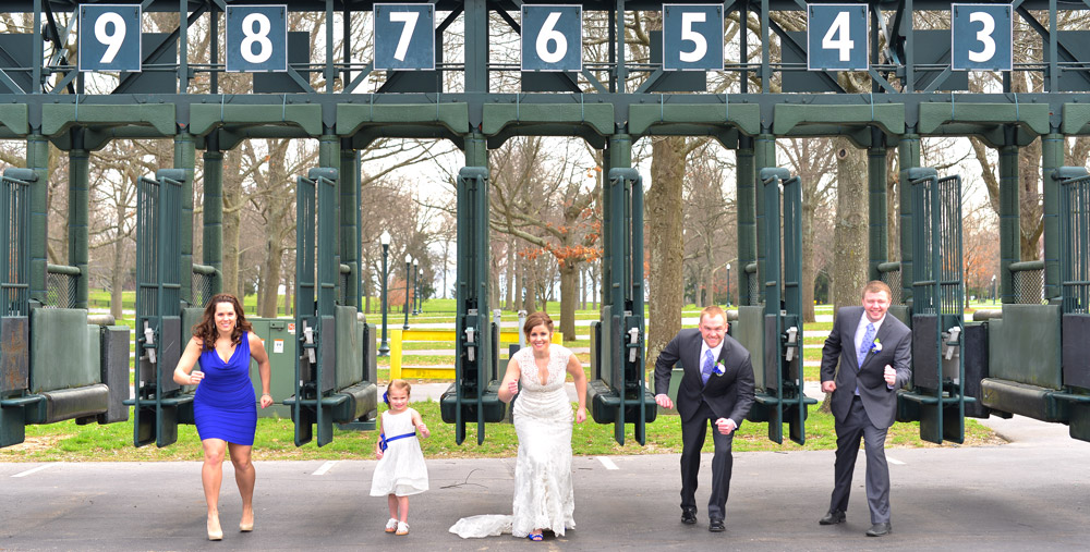 Starting Gate at Keeneland Race Track