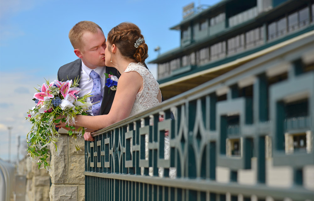 Love at Keeneland Race Track