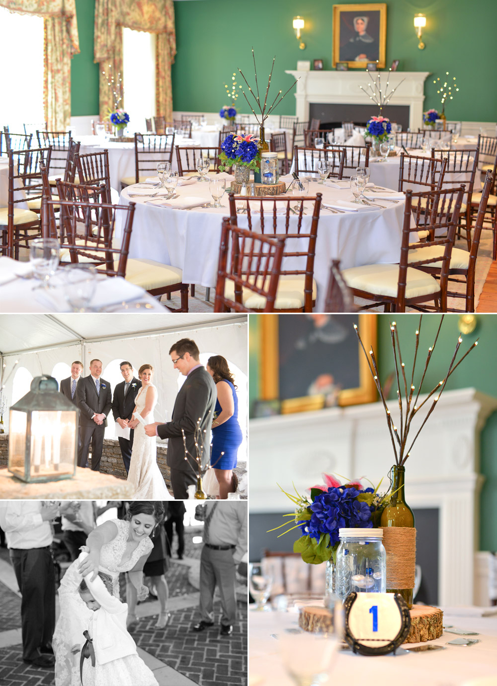 Wedding Ceremony and Reception at Keene Mansion, Lexington, KY
